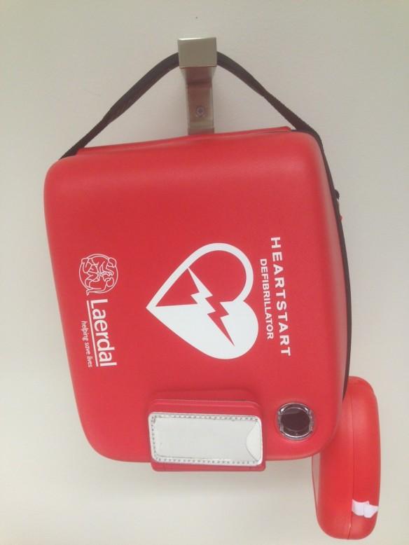Exempel på hur en hjärtstartare/deff kan se ut