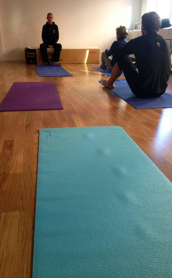 Lizah berättar mer om vad mediyoga är och varför hon började med yoga