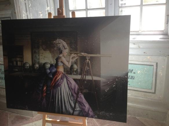"""Ett verk i fotoutställningen """"A frozen tale"""" av Alexia Sinclair"""