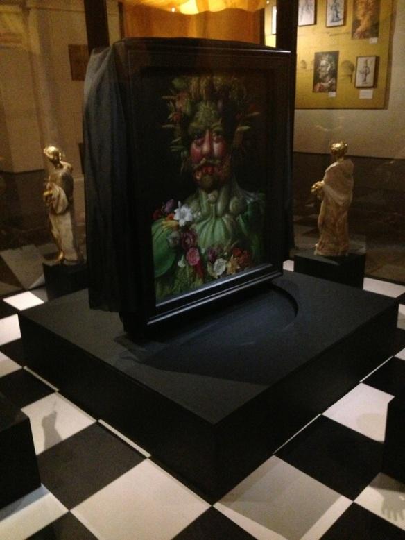 Den världskända målningen Vertumnus, årstidernas gud