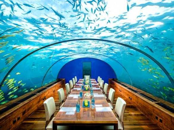 Rangali island Maldives, Ithaa restaurant